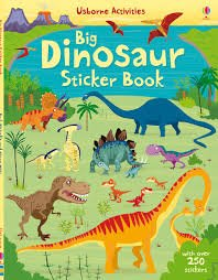 Usborne Activities Big Dinosaur Sticker Book