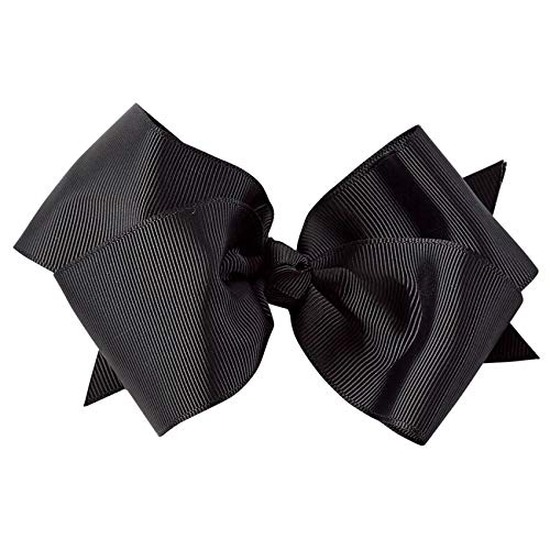 Mud Pie Black Bow Clip