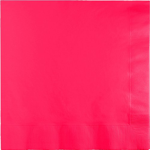 3 Ply 1/4 Fold Dinner Napkins Candy Pink 250 Ct