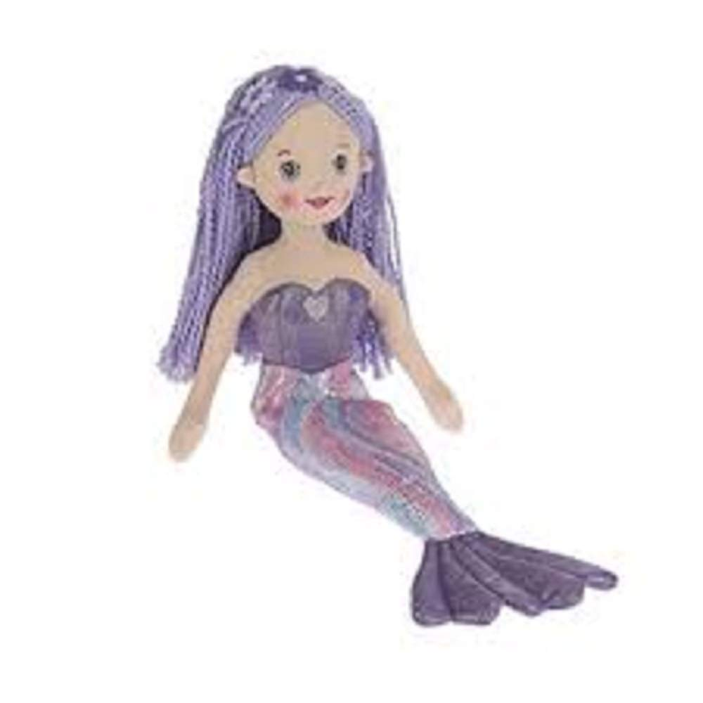 Ganz G Shimmer Cove Girl 18 inches Plush Stuffed Mermaid Toy Doll -Nahla