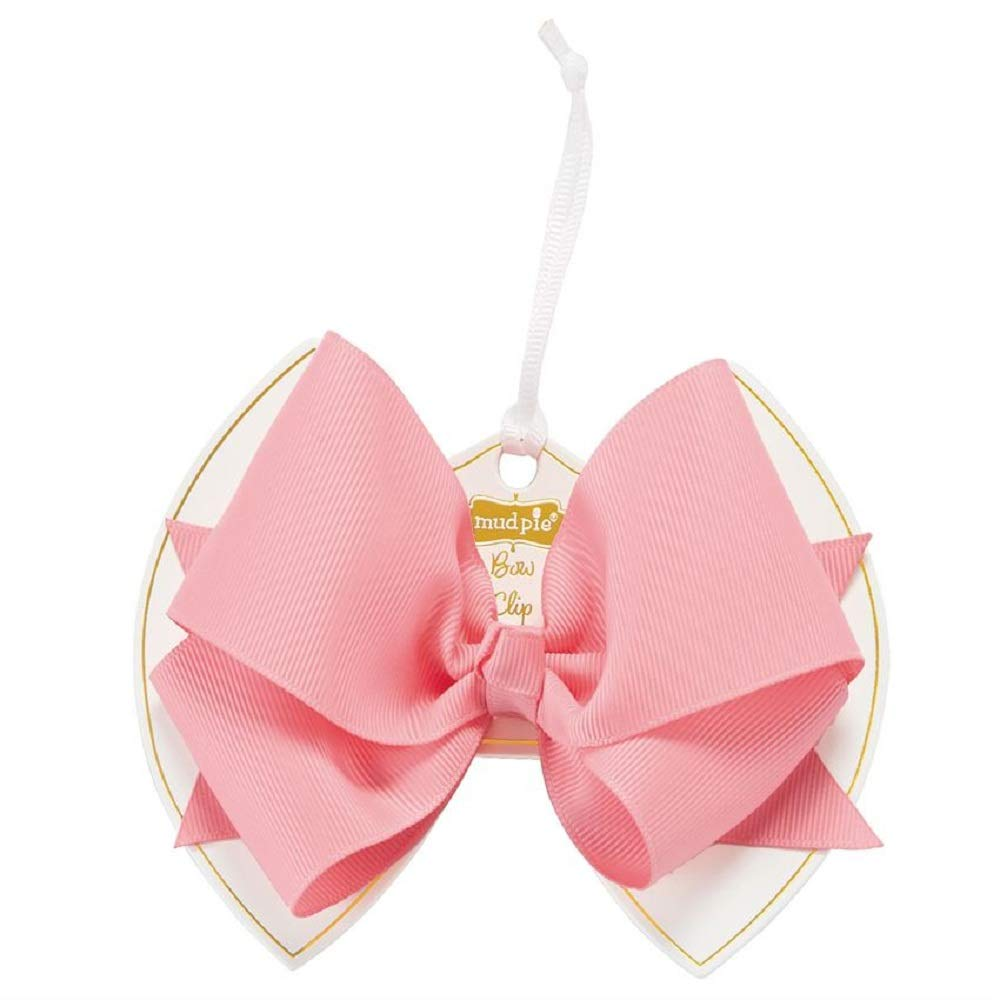 Mud Pie Pink Bow Clip