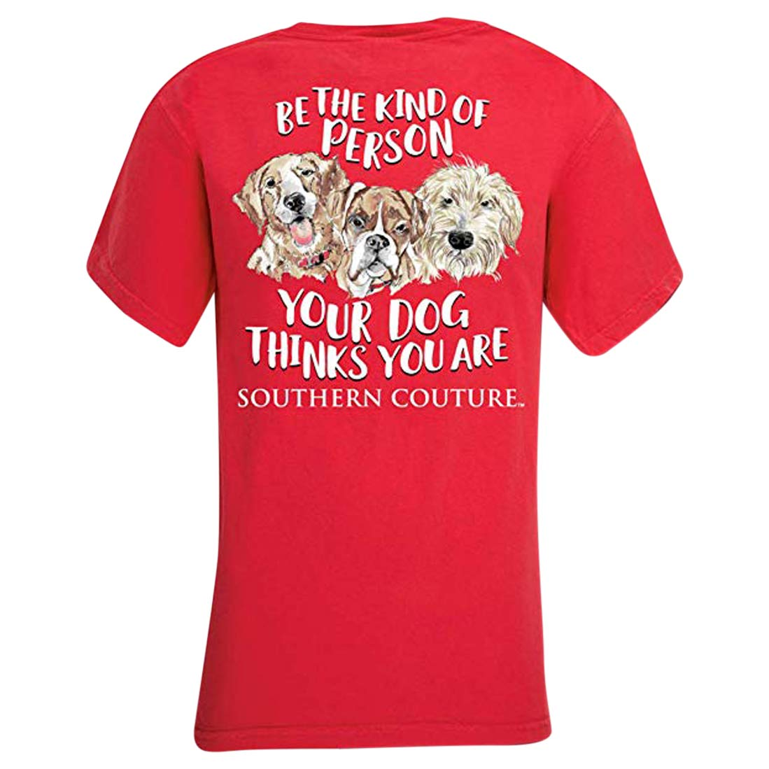 Be The Kind of Person Paprika Comfort Cotton Blend Novelty T-Shirt X-Large