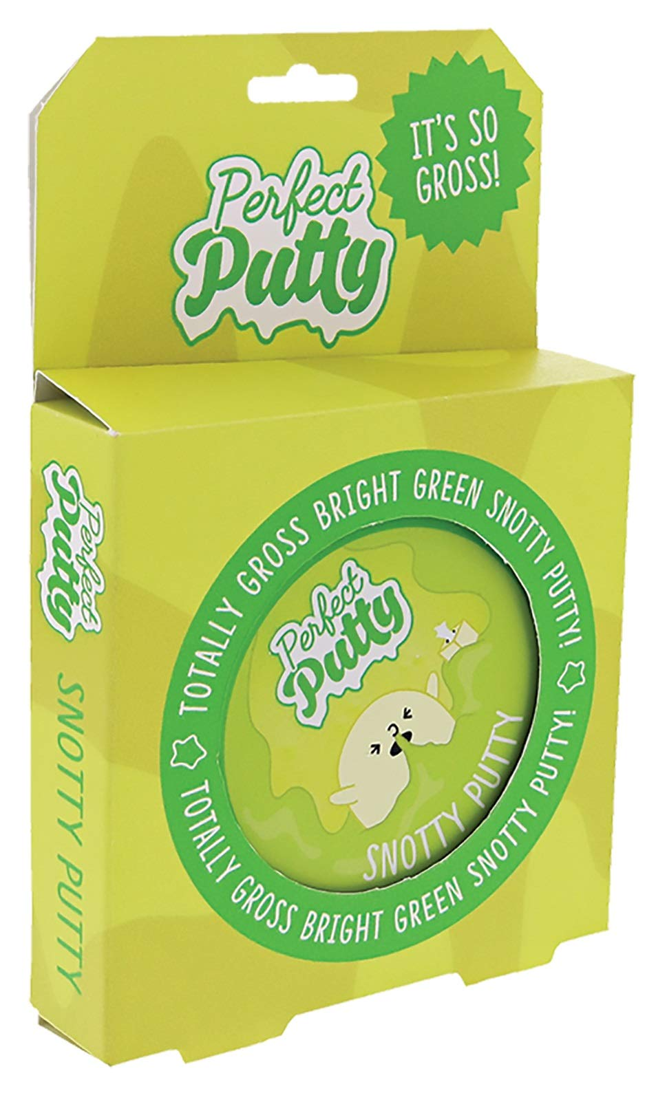 iscream Fizz Creations Perfect Putty Snotty Green Putty in Reusable Tin