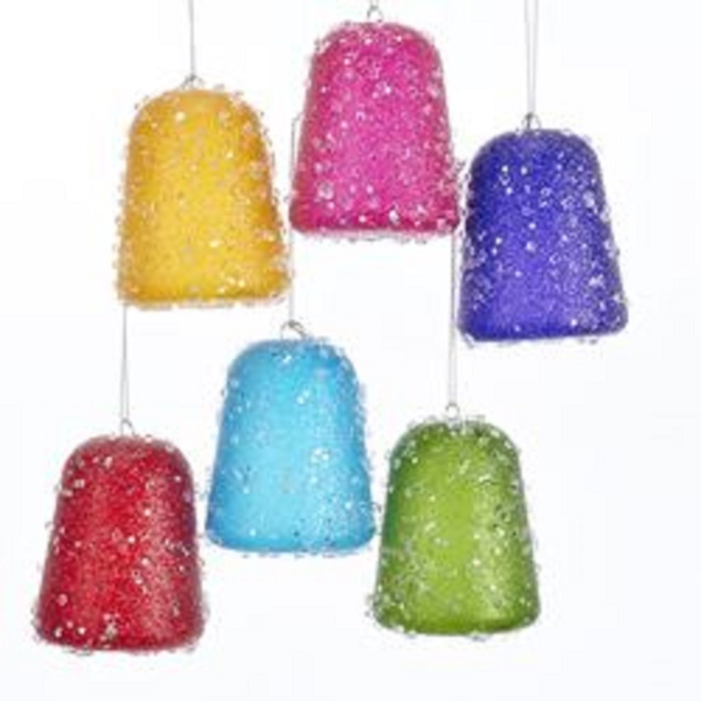 Kurt Adler Glittered Gum Drop Ornament