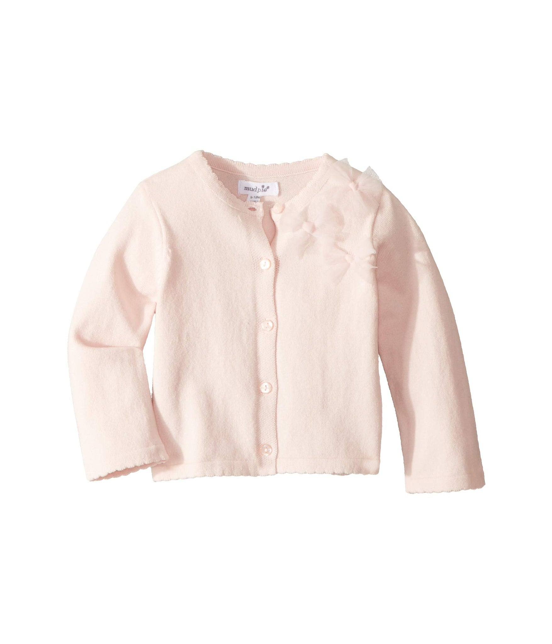 Mud Pie Baby Girl's Bow Cardigan (Infant)