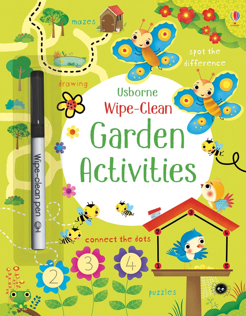 Garden Activities Wipe-Clean