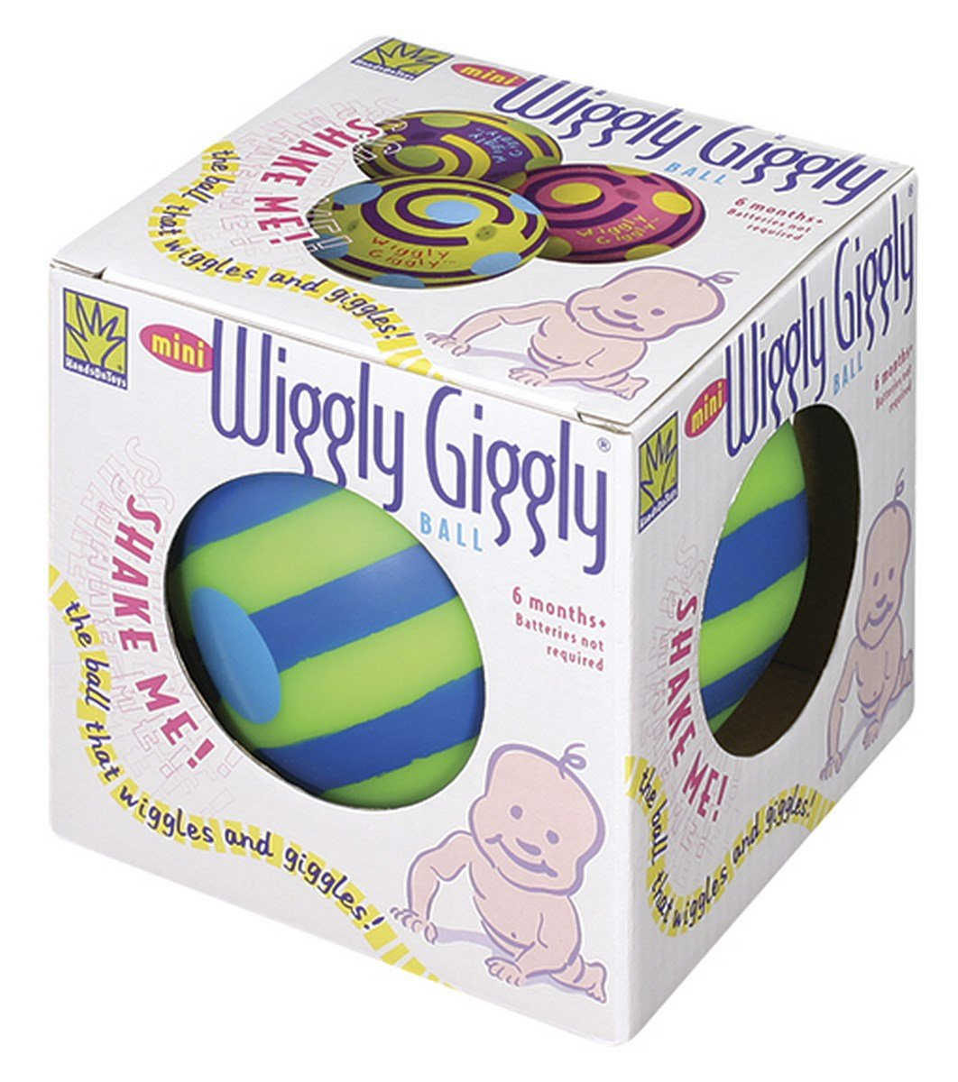 Toysmith Mini Wiggly Giggly Ball (Assorted Colors)