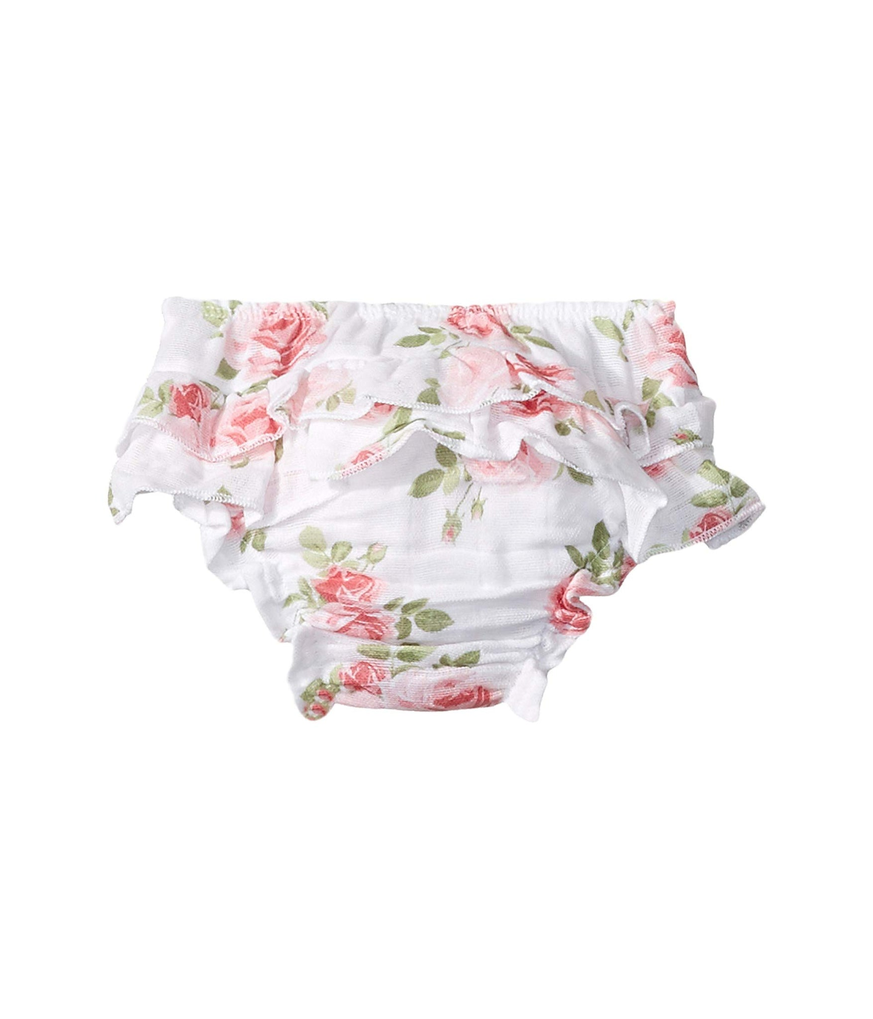 Mud Pie Baby Girl's Rose Headband Bloomer Set (Infant) White 6-12 Months