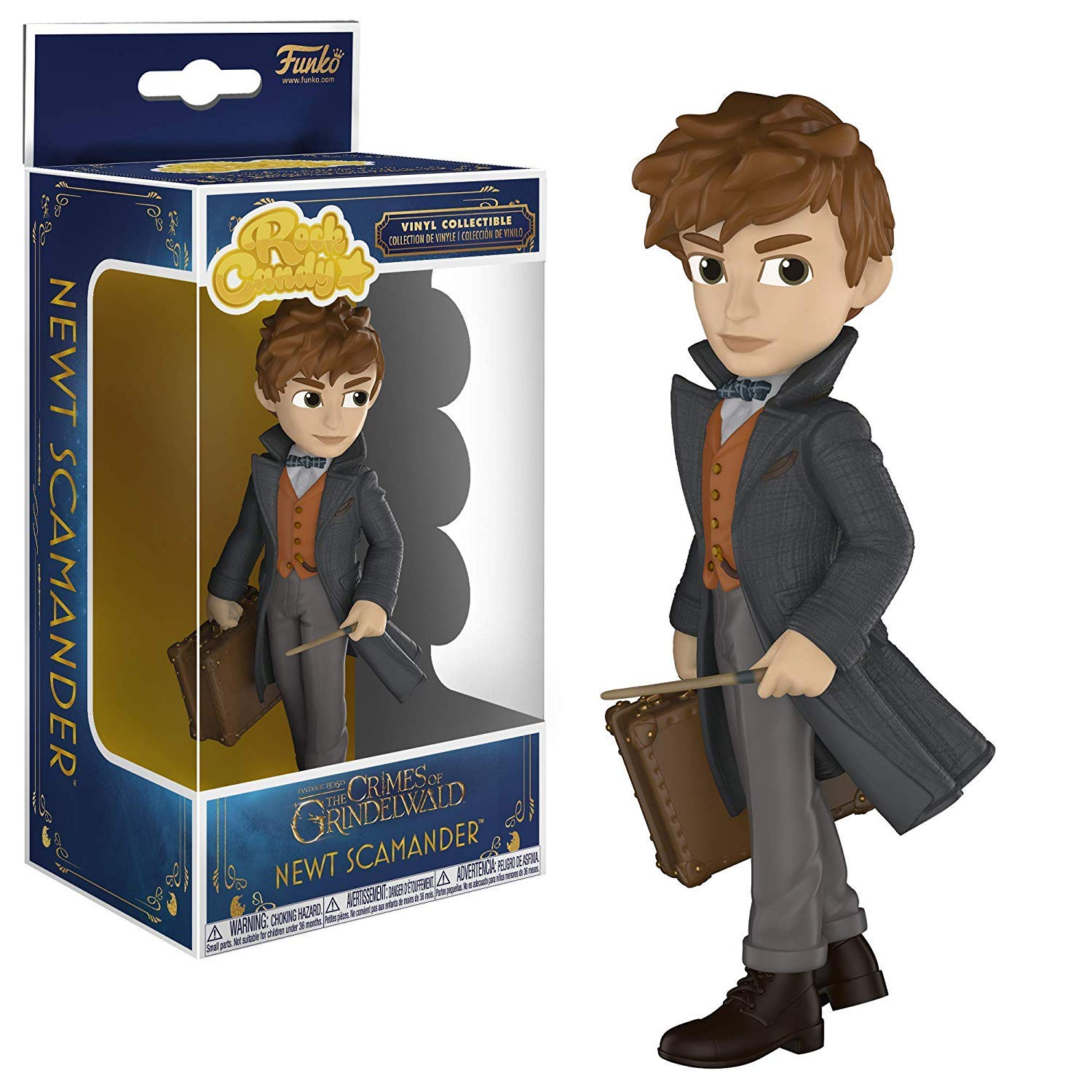Funko 32765 Rock Candy: Fantastic Beasts 2 - Newt, Multicolor