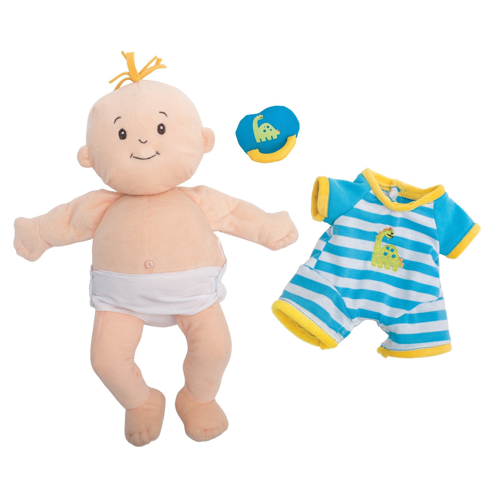 Manhattan Toy Baby Stella Boy Soft First Baby Doll for Ages 1 Year and Up, 15""