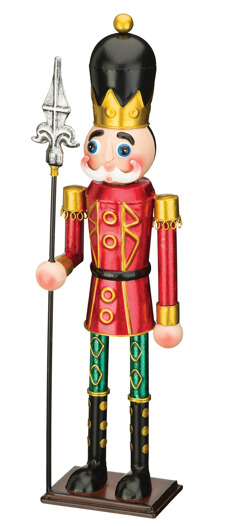 "Regal Art & Gift Toy Soldier Decor, 19"", Red Spear"