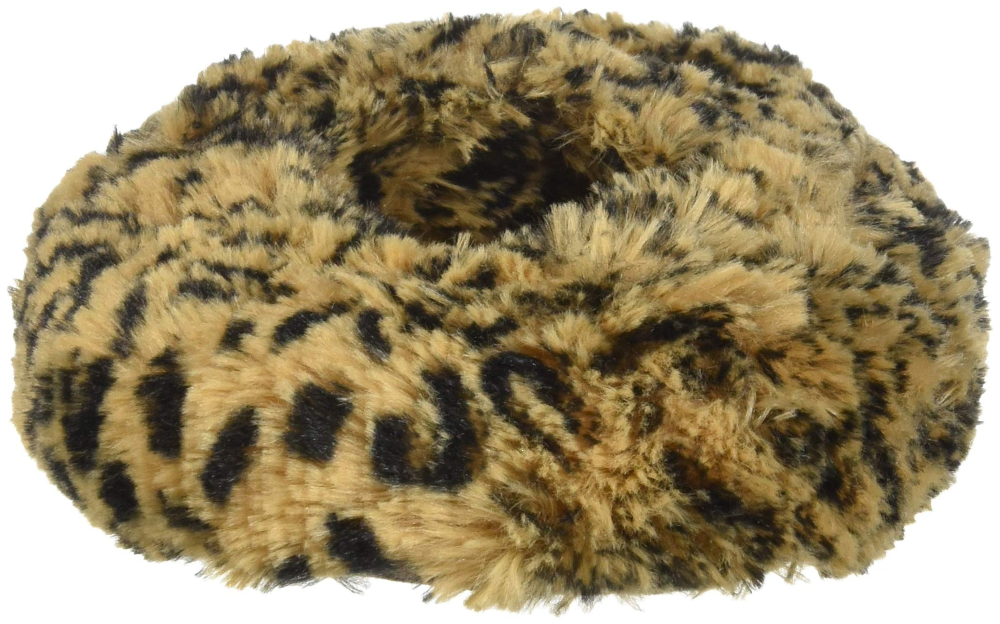 Intelex Fully Microwavable Luxury Cozy Slippers Leopard