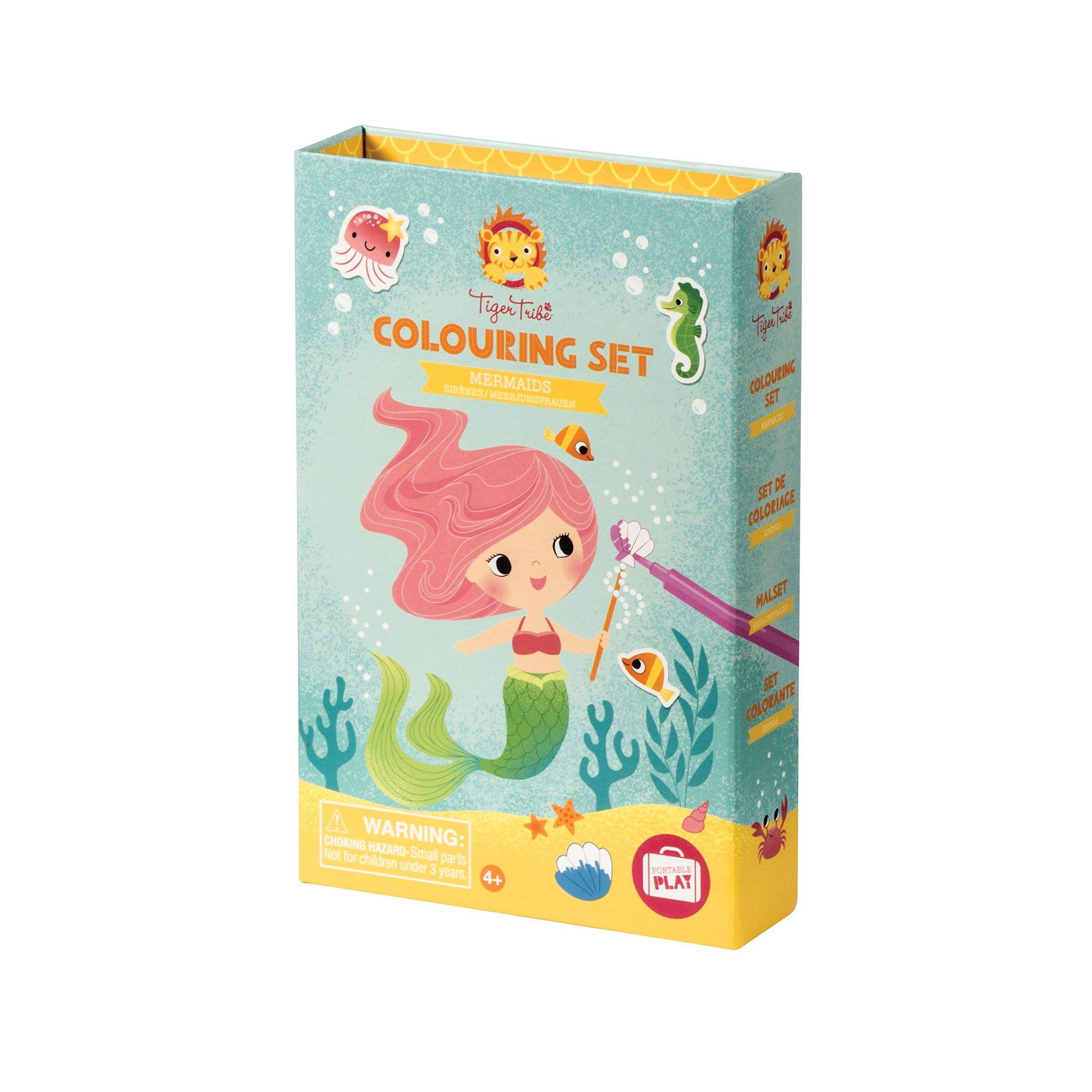 Tiger Tribe Mermaids Coloring Set