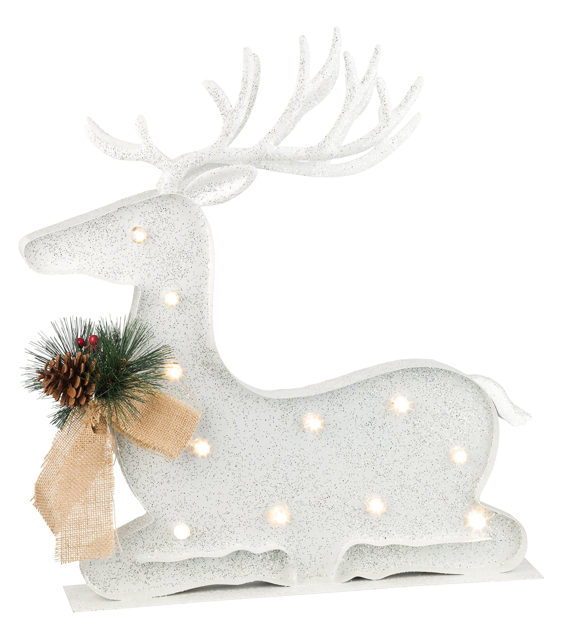 Regal Art & Gift LED Reindeer Decor - Down