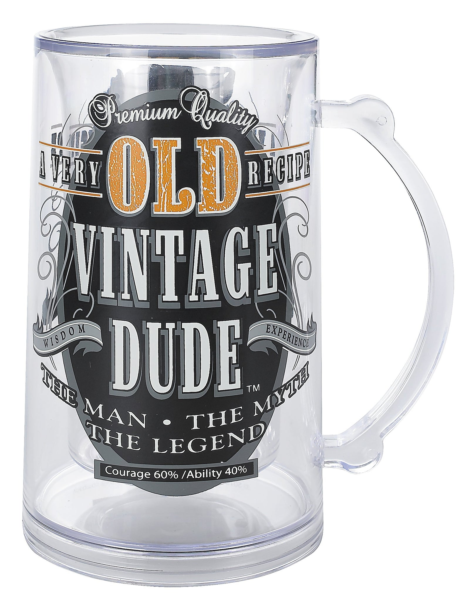 Laid Back CS1409 Men's Old Person Birthday Vintage Dude Tankard