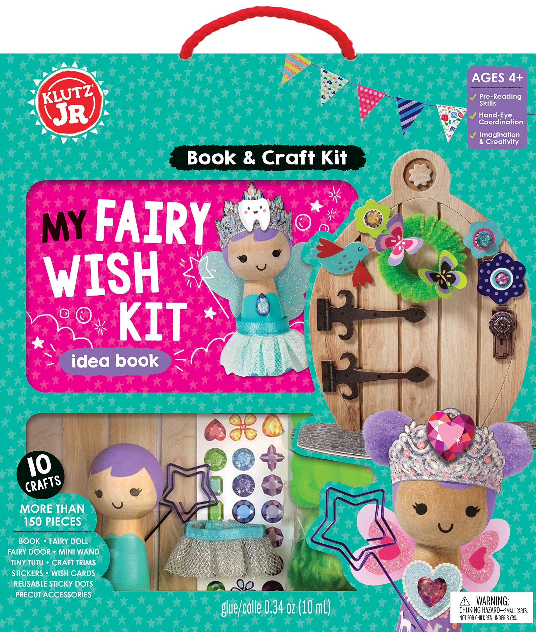 Klutz K815960 Jr. My Fairy Wish Kit