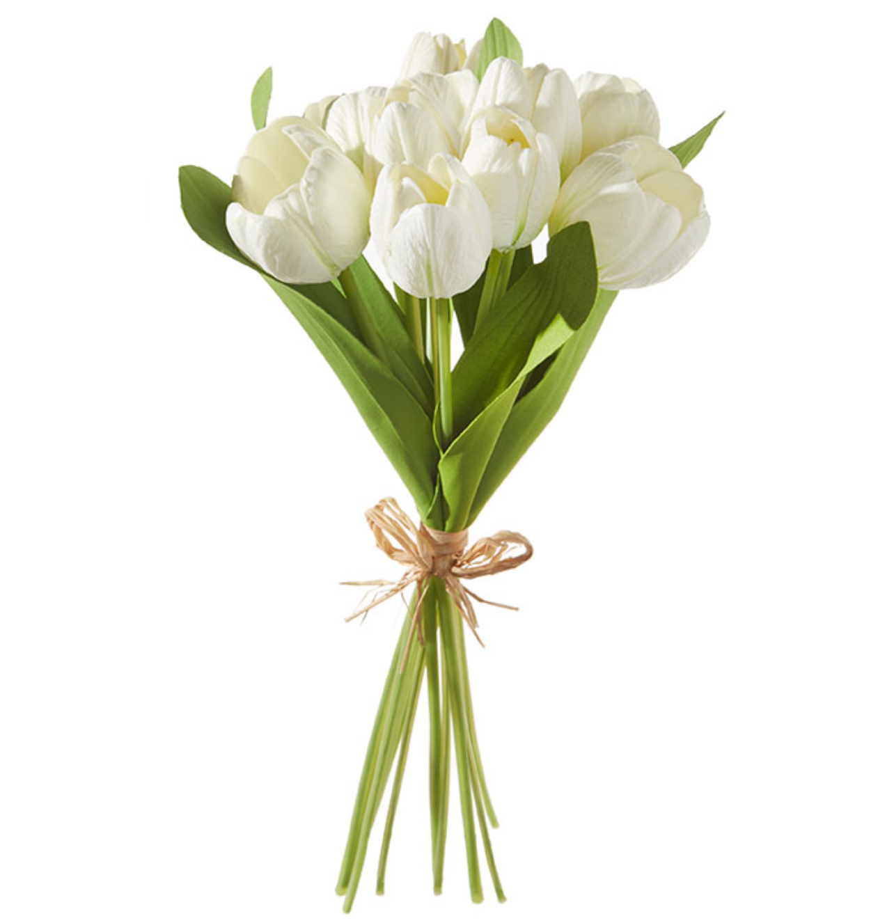 Real Touch White Tulip Bundle