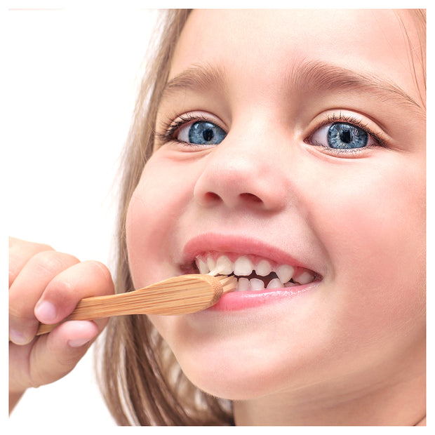 Kids Bamboo Toothbrushes