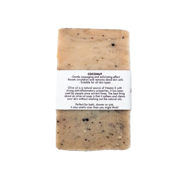 Coconut - Olive Oil Soap Bar