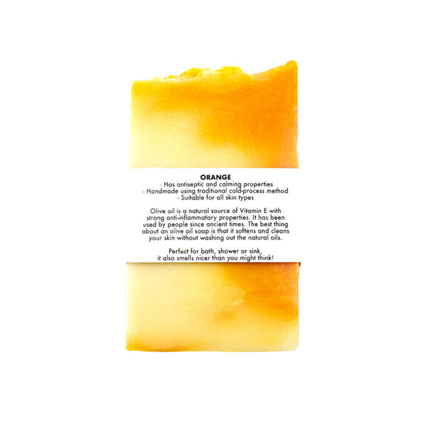 Orange Olive Oil Soap