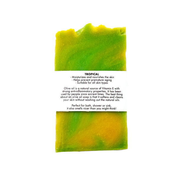 Tropical - Olive Oil Soap Bar