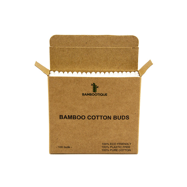 Bamboo Cotton Buds (Pack of 100)