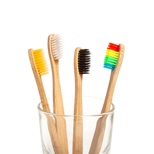Bamboo Toothbrush Family Pack - 4