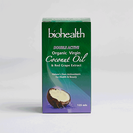 Double Active Virgin Coconut Oil with grape resveratrol Hong Kong