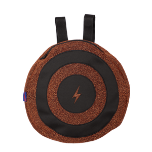 Defender Copper and Black Backpack with Cape