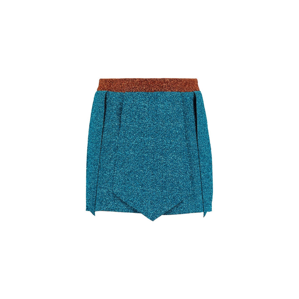 Defender Aqua and Copper Shorts