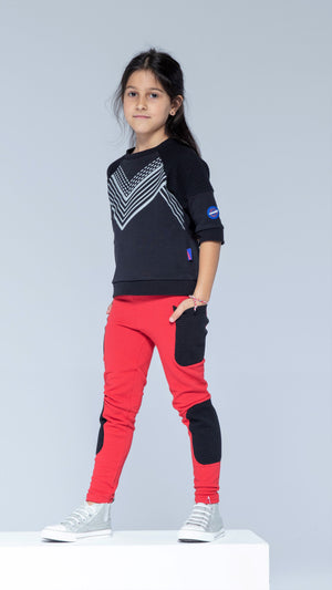 Sky Patroller Black Sweatshirt