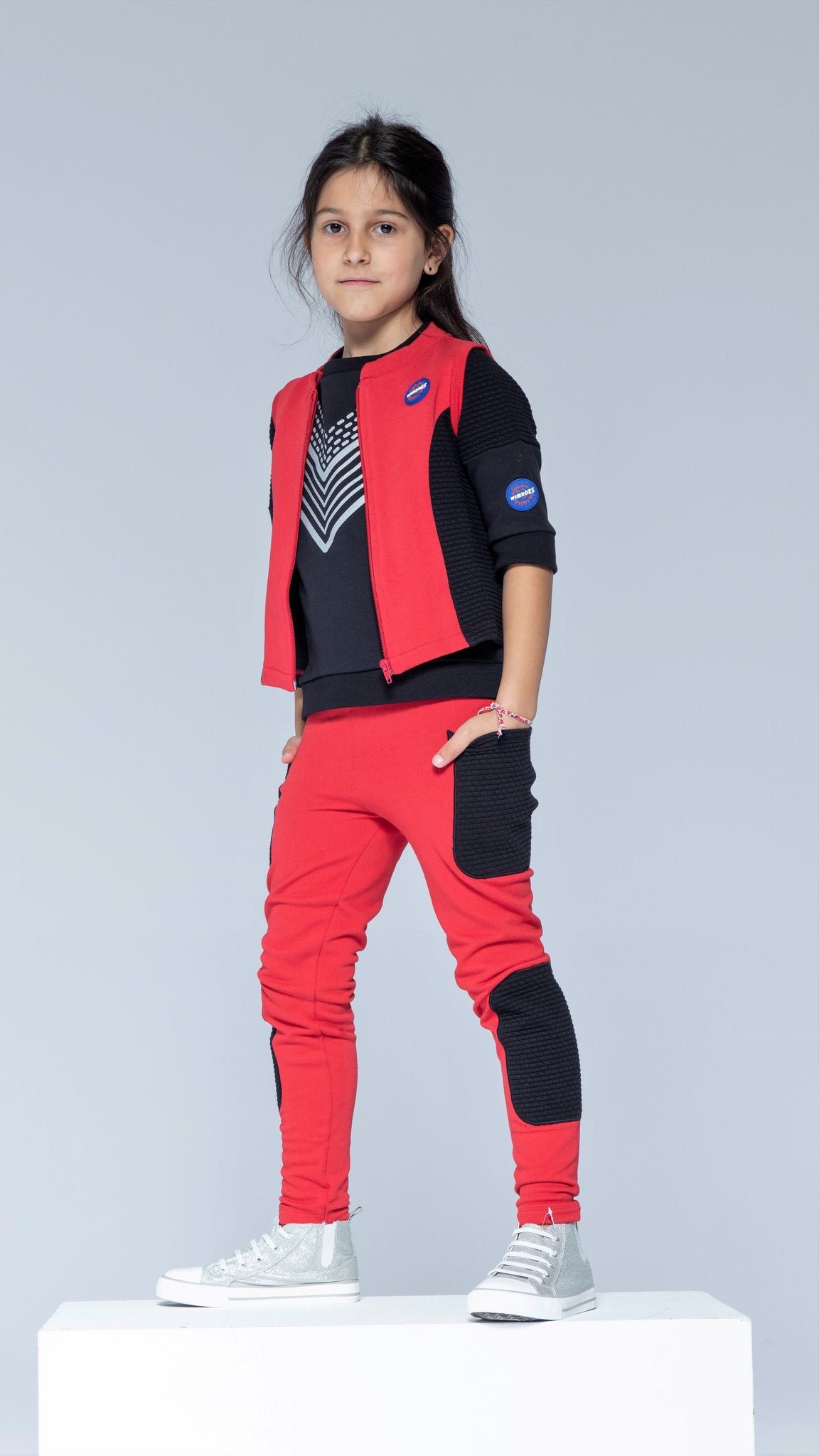 Sky Patroller Red and Black Vest