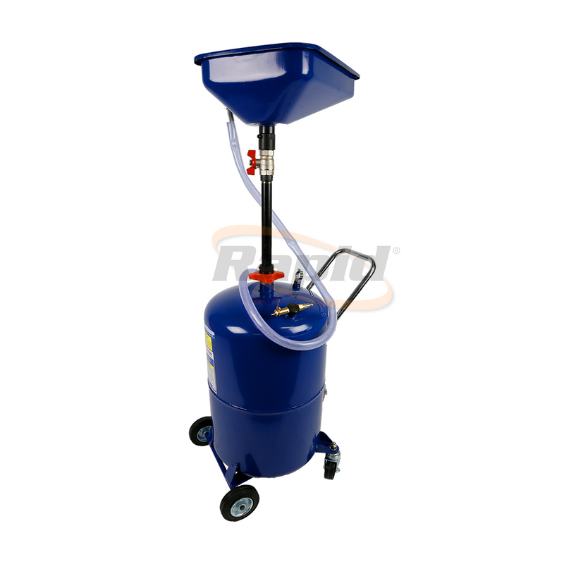 OIL DRAINER SELF EVACUATING 65 LITRE
