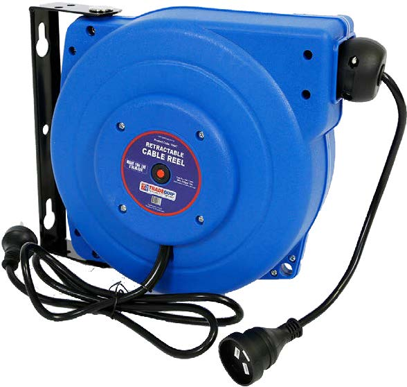 POWER CABLE REEL 15M 10AMP HD