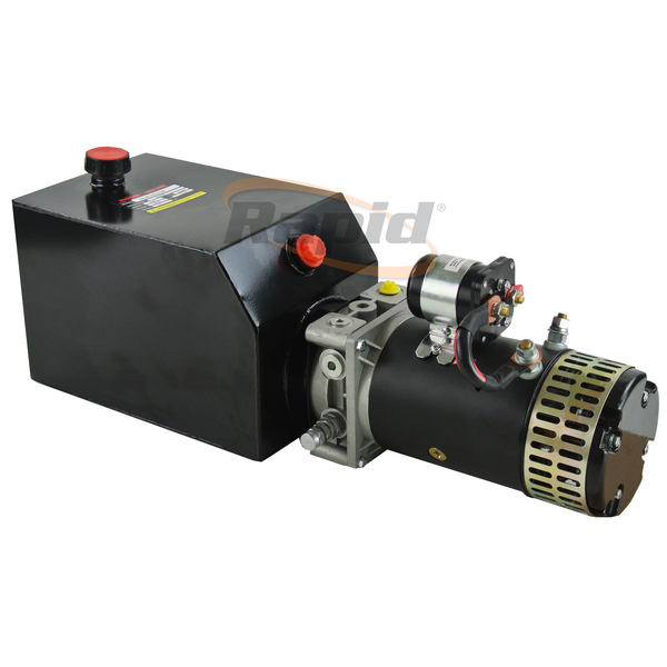 Hydraulic Power Unit 3kW 12V 3.7cc D/A 10Lt Tk