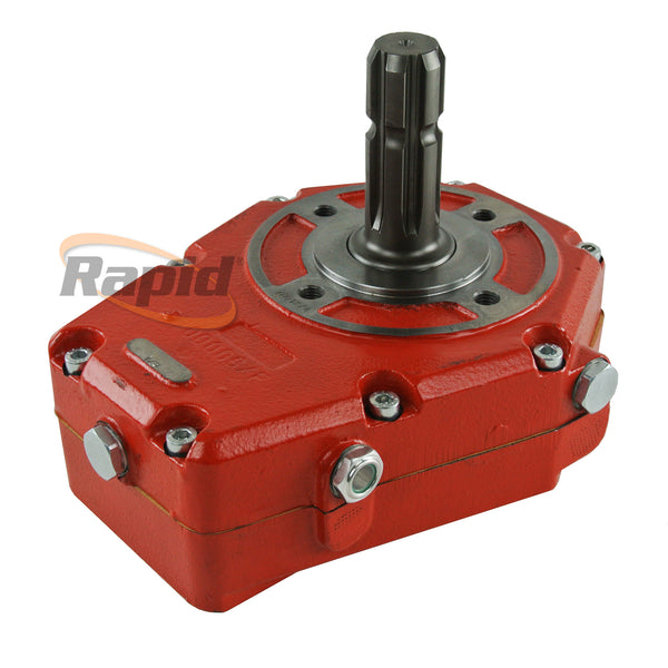 Pump Over Gear Cast Iron Male Shaft 1:3 Ratio 37kW