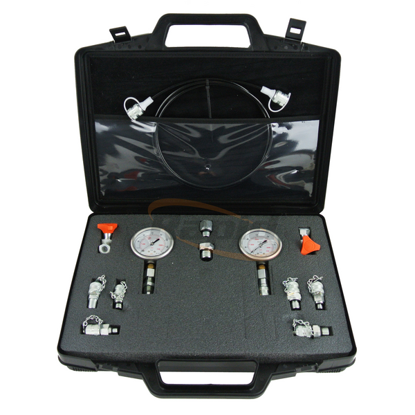 Pressure Gauge (2) Test Kit with Test Points