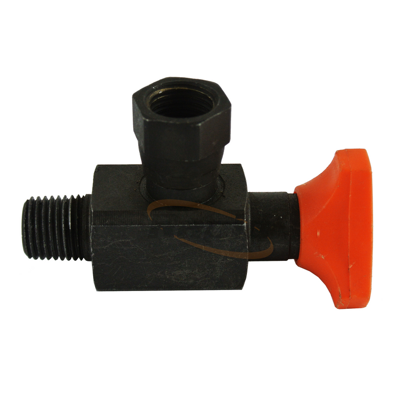 Pressure Gauge Anti Shock Valve Straight 1/4 BSPP