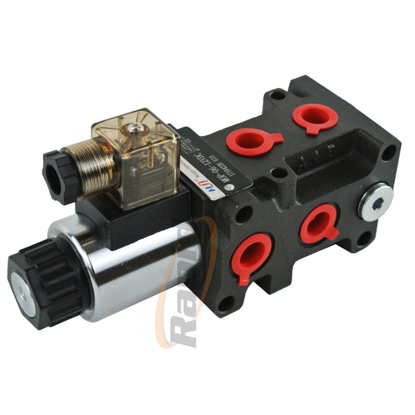 Solenoid Diverter Valves 6 Port MOP Series
