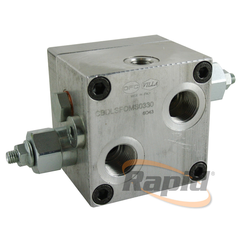 Dual Counterbalance Valve BMS(Y) c/w Brake Release