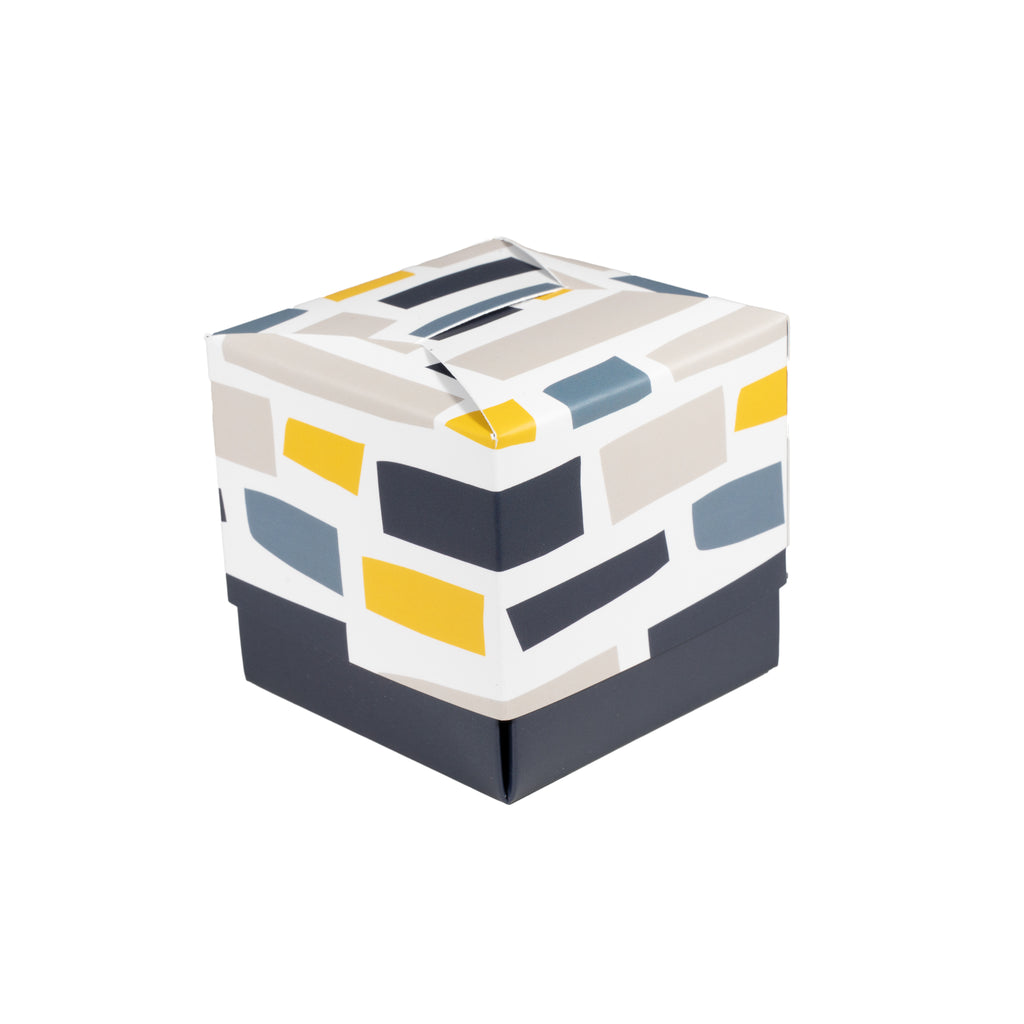 Abstract Stripes Gift Box