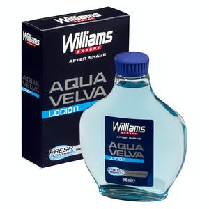 After shave loción aqua velva Williams Frasco 200 ml