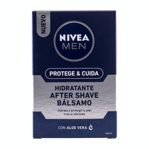 After shave bálsamo hidratante Nivea Men con aloe vera Frasco 100 ml
