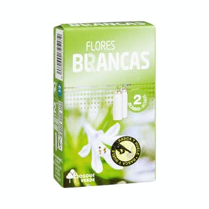 Ambientador mini spray Bosque Verde flores blancas Caja 2 ud. (30 ml)