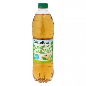 Refresco de manzana Carrefour sin gas botella 1,5 l