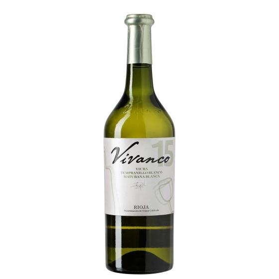 Vino D O Rioja blanco tempranillo Vivanco 75 cl