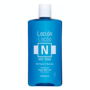 After shave loción piel normal Deliplus extracto de algas marinas Bote 320 ml