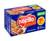Nocilla y sticks 35 g.