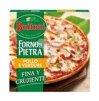 Pizza de pollo 340 g