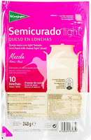 Queso semicurado light en lonchas